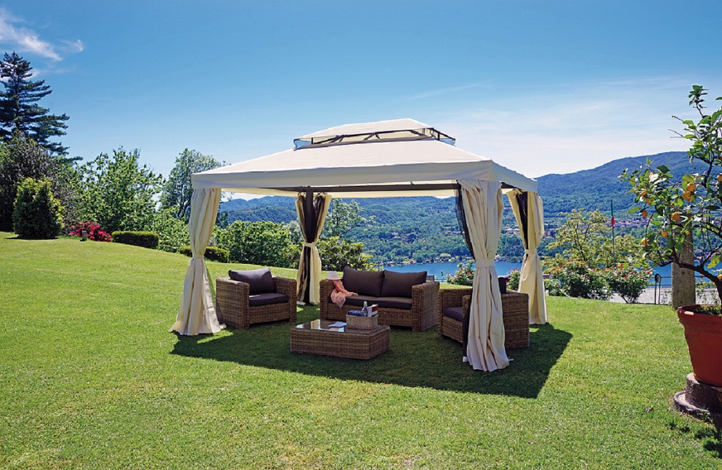 Gazebo in alluminio alu pinetarreda